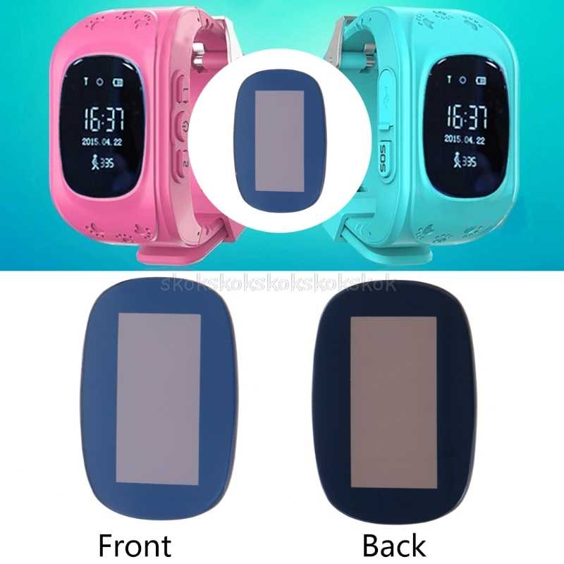 Glass Screen Protector Replacement For Smart Kid Anti-Lost GPS Tracker Watch Q50 O19 dropship