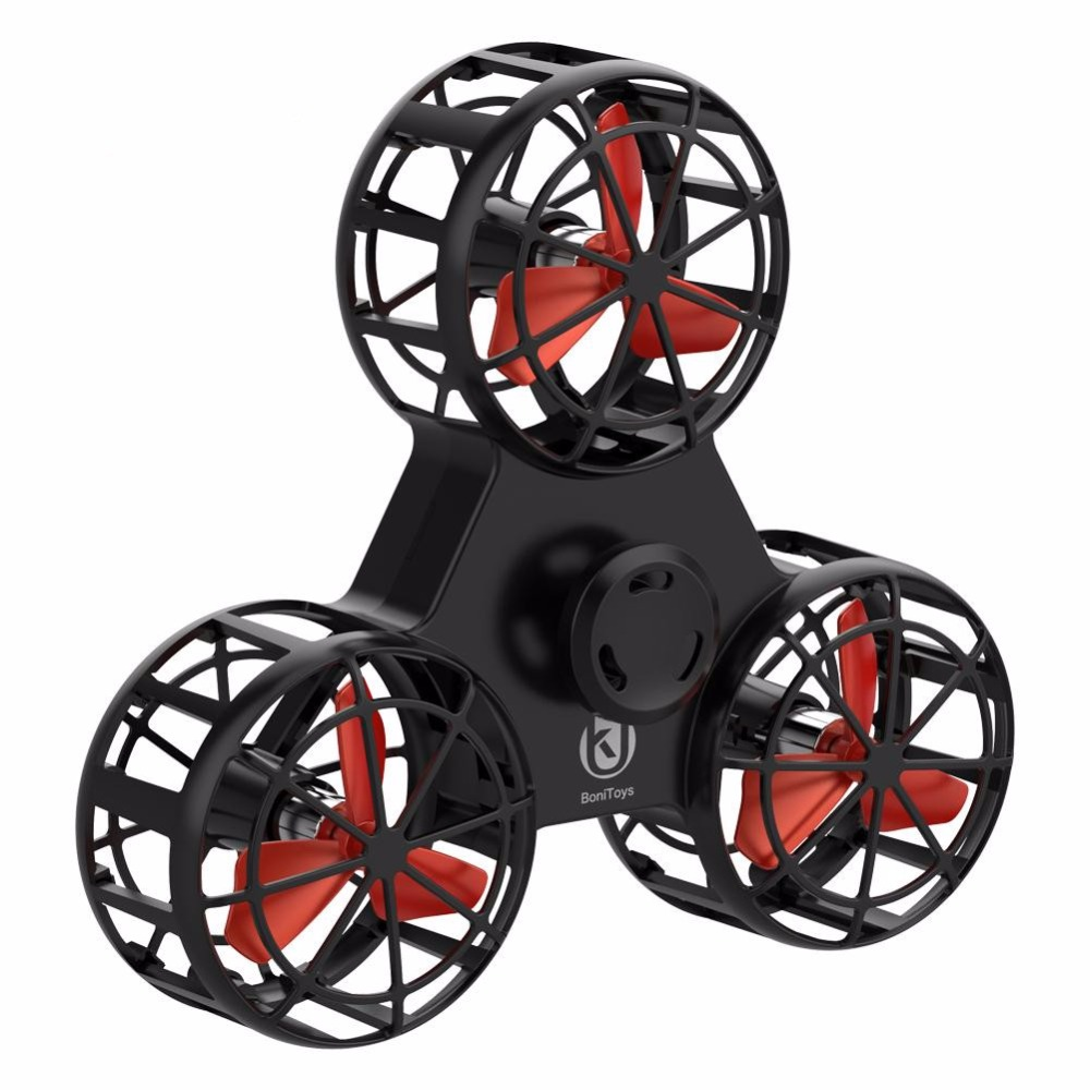 RCtown Mini Fidget Spinner Hand Flying Spinning Top Autism Anxiety Stress Release Toy Funny Gift Toys For Children D13