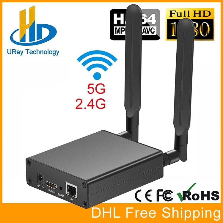 MPEG4 1080 P 720 P HDMI Encodeur Vidéo Streaming Codeur HDMI Émetteur Diffusion En Direct Codeur H 264 Pour Youtube Facebook Wowza