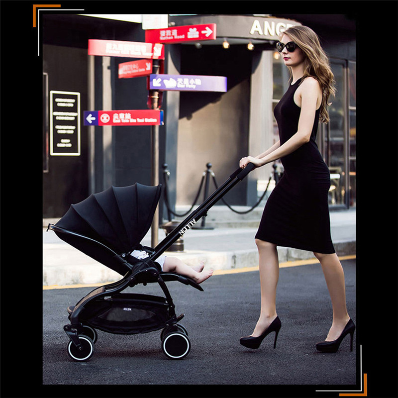 Luxury Baby stroller two-way use to avoid vibration Umbrella Strollers light travel baby car