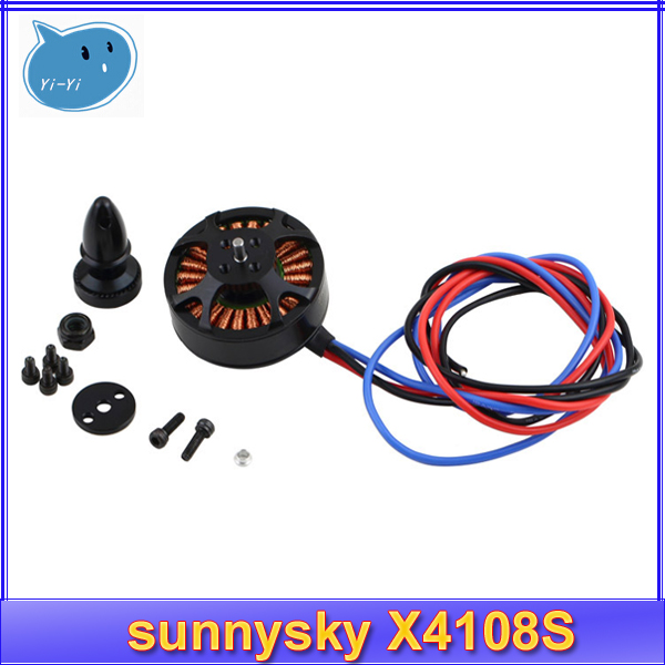 Free shipping sunnysky X4108S 380KV 480KV 600KV Outrunner Brushless Motor for Multi-rotor Aircraft multi-axis motor disc motor
