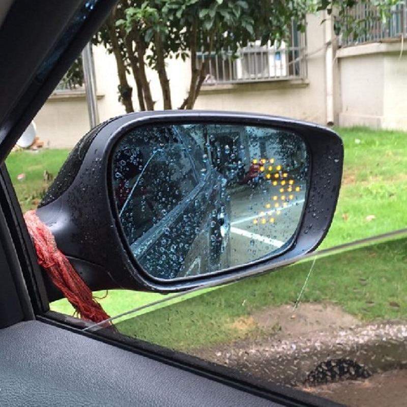 цена на Savanini Brand New Power Heated Blue Wide Angle Sight Side Rear View Mirror Glasses For Hyundai Elantra