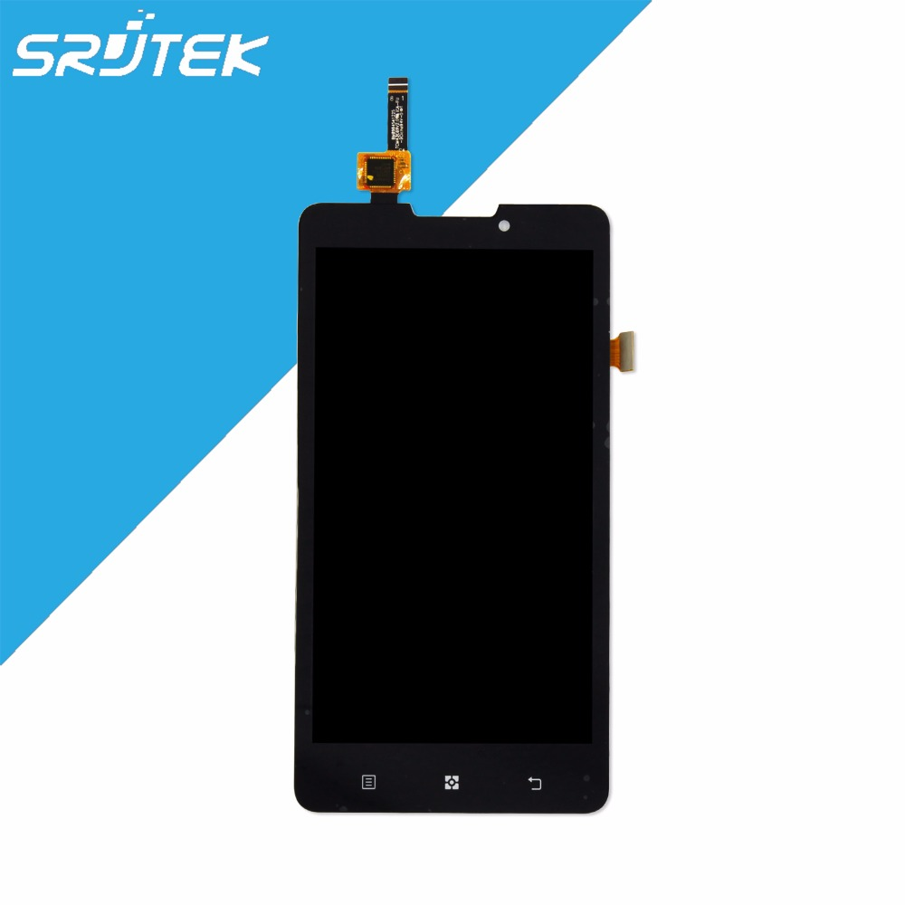Original 5 For Lenovo P780 LCD Display Screen With Touch Digitizer Screen Assembly Black Replacement Parts