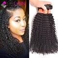 Mslynn kinky curly virgem cabelo 3 bundles brasileiro virgem cabelo curly weave do cabelo humano feixes de cabelo encaracolado afro crespo brasileira