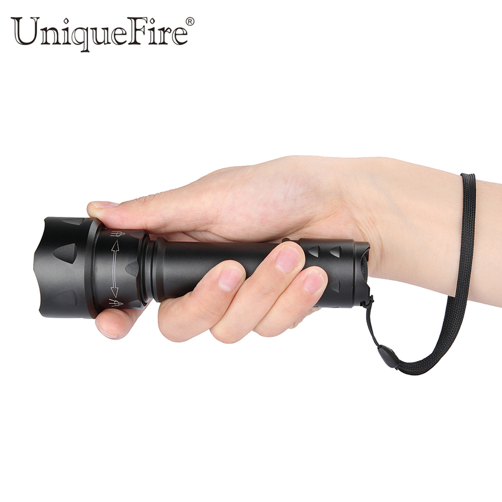 UniqueFire Newest NIGHT-SCOUT 38mm IR 940nm Torch 3 Mode T20 Zoomable Infrared Flashlight For 1x18650 Rechargeable Battery ir 850nm 5w night vision infrared zoomable led flashlight torchcamping on off mode with gun clip dual mode remote pressure switc