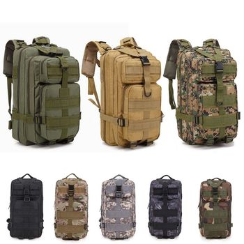 900D Nylon Tactical Backpack Military Backpack Waterproof Army Rucksack Outdoor Sports Camping Hiking Fishing Hunting Bag