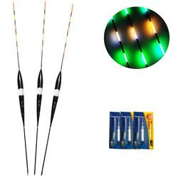 1PC Luminous Electronic Float LED Fishing Float Electric Flotador Light + Battery Deep Water Buoy Fishing Tackle