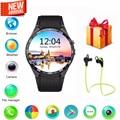Lemado kw88 kingwear mtk6580 smartwatch telefone android 5.1 3g ram 512 mb rom 4 gb gps wi-fi smartwatch para apple moto huawei