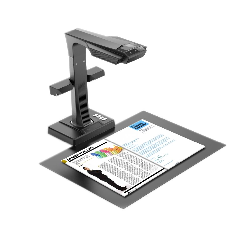ET16 Plus Book and Document Scanner Smart Portable 16MPS camera scan with Hand Foot Pedal for