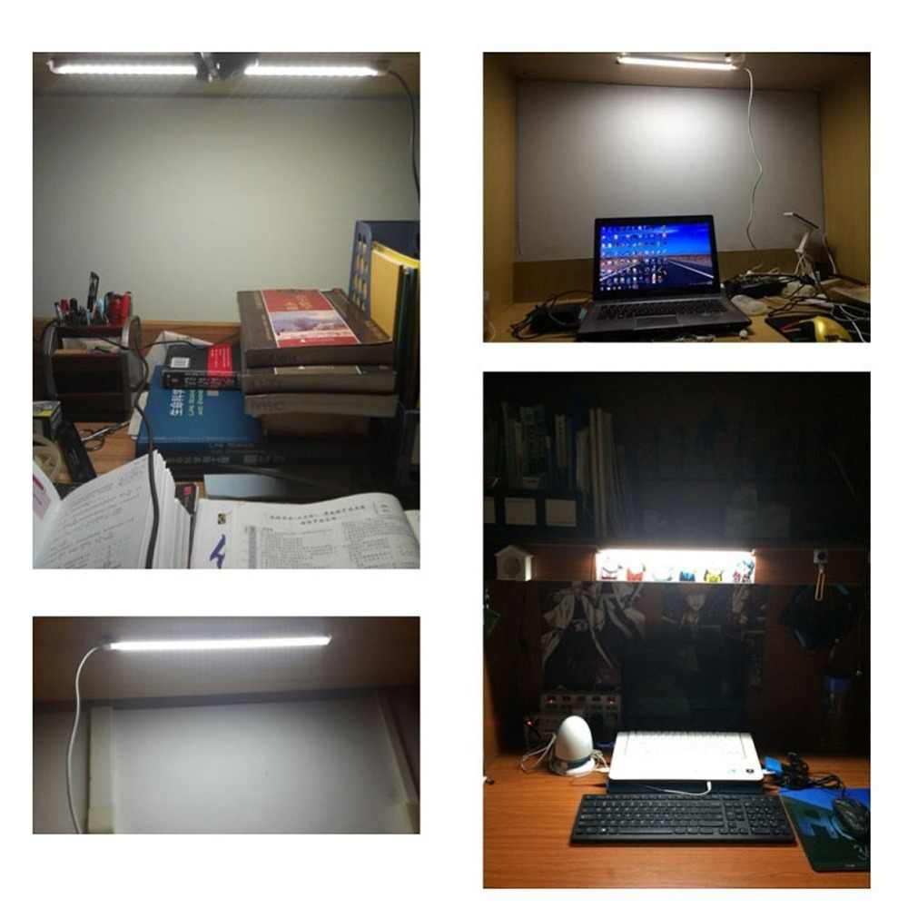 USB LED BAR Light DC 5V 5730 Bar Led52cm Aluminum Strip Light For Cabinet Closet White Warm White Study Reading Lamp With Switch