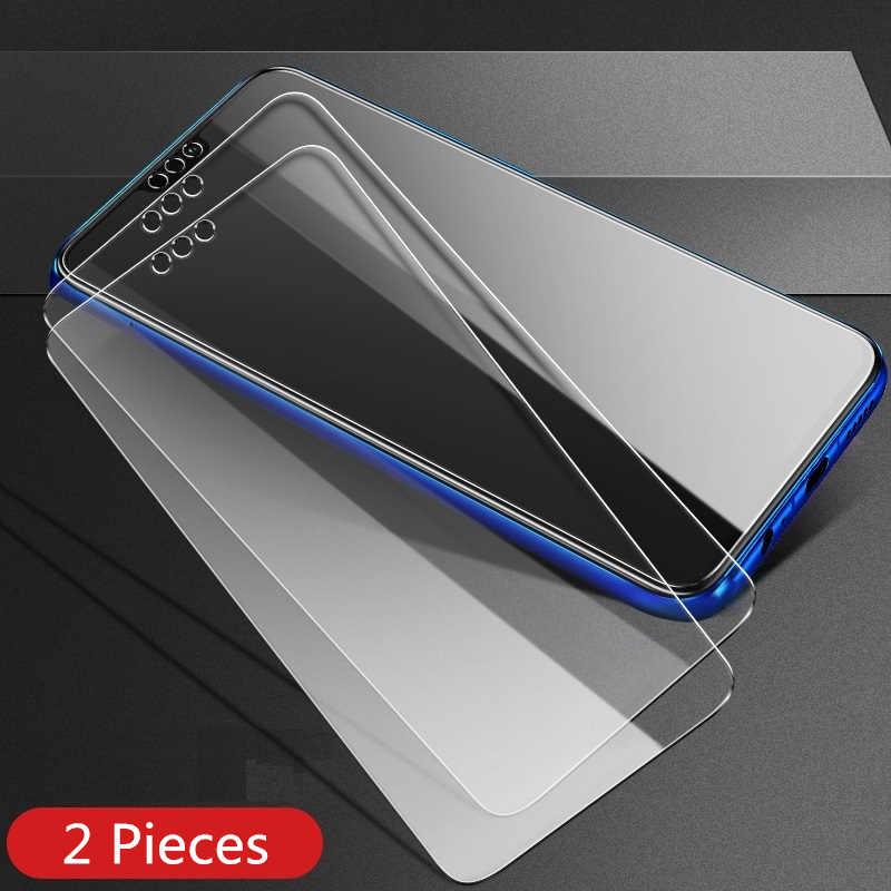 2 قطعة الكثير الزجاج المقسى لهواوي الشرف 8X الهاتف الذكي 6.5 بوصة شاشة 64 128 GB 4 6 GB غشاء واقي honor8X غطاء رقيقة واضح