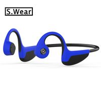 Low price promotion! S.Wear Z8 Bluetooth Wireless earphones Bone Conduction Earphone Outdoor Sport Headset with Mic With Box