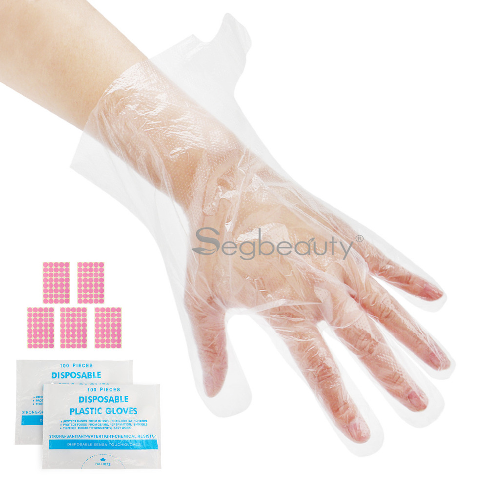 200pcs Paraffin Wax Hand Liners, Upgraded Larger And Thicker Plastic Paraffin Bath Hand Bags, Therabath Spa Mitt Glove Liners
