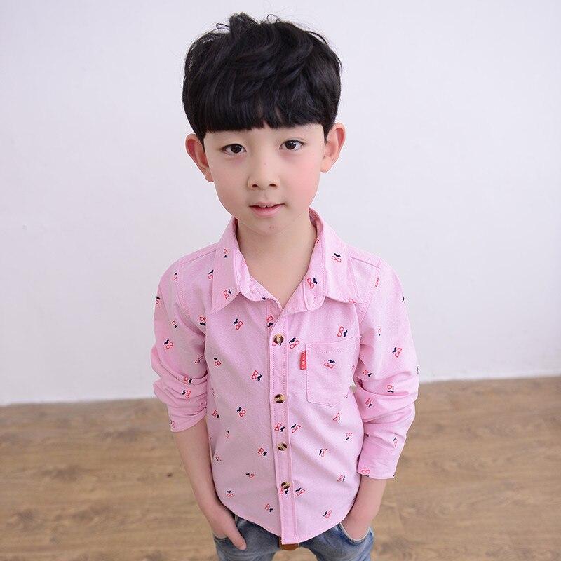 ᐅMuchachos del otoño camisa niño 100% algodón tops ropa para ...