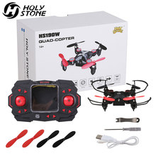 USA Stock Holy Stone HS190 Pocket Mini Drone RC Drone Quadcopters Headless Mode One Key Return RC Helicopter Best Toys For Boys holy stone hs190w drone rc quadcopter wifi selfie aerial camera headless mode racing drone foldable pocket rc helicopter toys
