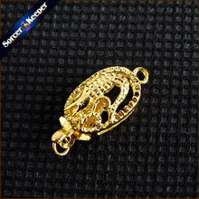 Toggle Clasps Connector Jewelry-Hooks Flower-Shaped Pearl-Necklace/bracelet Gold-Plated