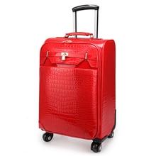 Paul suitcase universal wheels trolley luggage 16 travel bag  soft box pull box,high quality women travel luggage bags