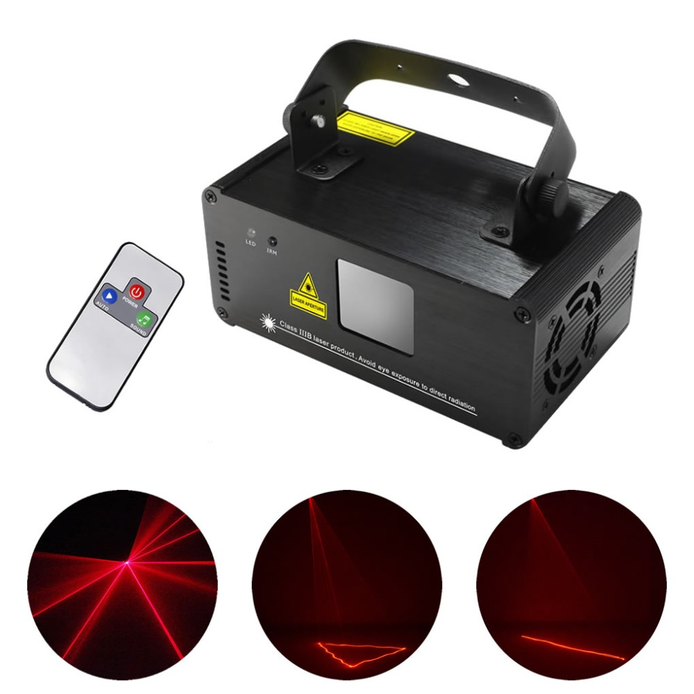 AUCD IR Remote PRO Mini 8 CH DMX 512 200mW Red Laser Stage Lighting Scanner DJ Party Show Projector Equipment Lights DM-R200 aucd ir remote 200mw rgy laser stage lighting 8 ch dmx 512 pro scanner dj party ktv show projector equipment light dm rgy200