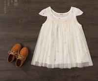 Wholesale 5pcs Lot Baby Girls White Dresses Girls Summer Princess Dress Kids Summer Dresses
