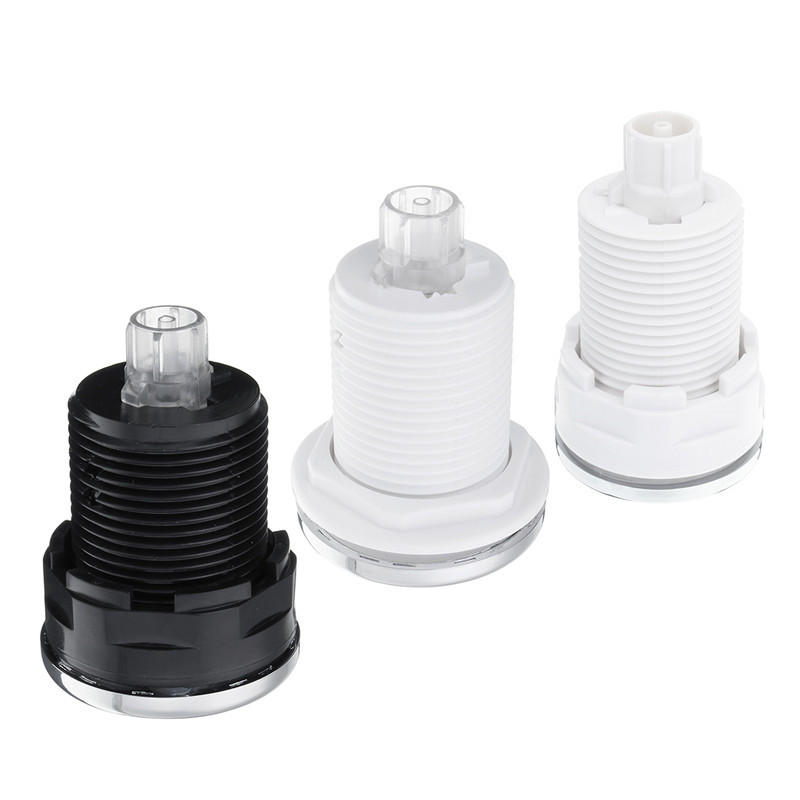 New Pneumatic Switch On Off Push Air Switch Button 28mm/32mm/34mm For Bathtub Spa Waste Garbage Disposal Whirlpool Switch