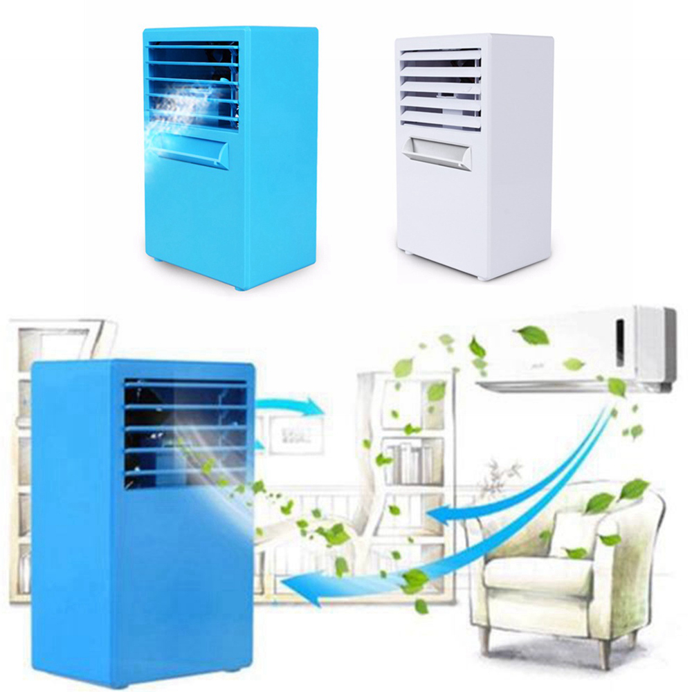 Portable Table Mini Air Conditioner 3 Gear Humidification Refrigeration Mist Spray Electric Cooling Fan Air Conditioning Cooler air conditioning