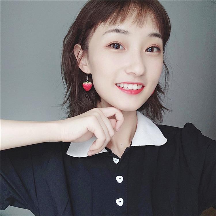 Strawberry Earrings 2