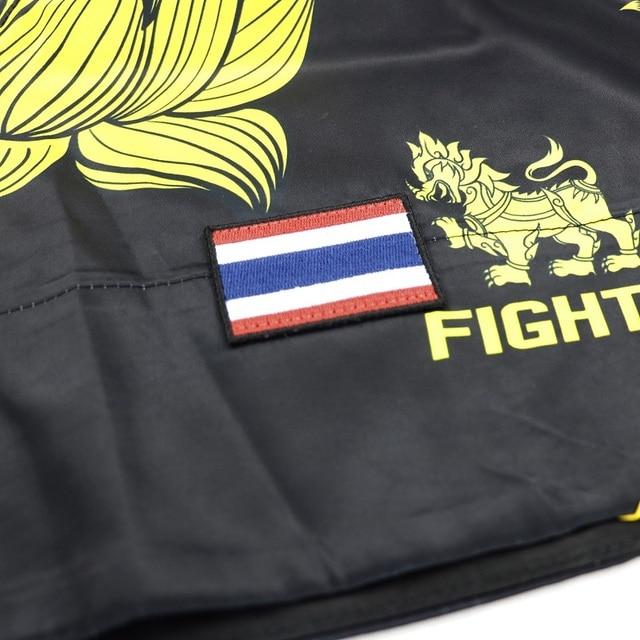 ROLLHO di Loto mma tronchi pantaloncini da boxe muay thai breve mma guantoni da boxe pantaloni delle donne degli uomini di muay thai mma pantaloni thai boxe kickboxing