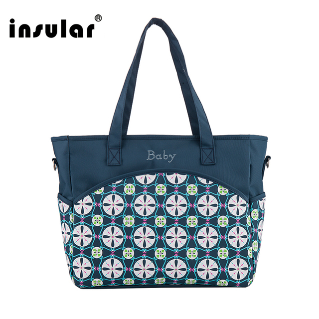 1398912086f66 Hot Sale Insular Baby Dipper Bag Large Capacity Nappy Bag Women Messenger Bag  Mommy Bag For