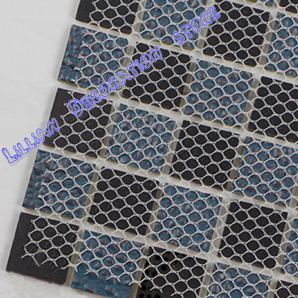 Tea Colour And Gold Glass Mosaic Border Tiles Wall Mirror Strips