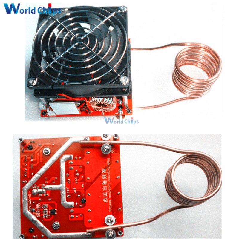 DC 24-36V 20A Diy ZVS induction heating board Flyback driver heater Cooker+ Ignition coil Diy Kit