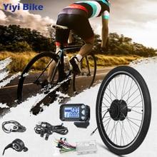 Electric Bike Conversion Kit 36V 48V 350W Electric Wheel/Hub Motor LCD Display 26 27.5 28inch 700C motor para bicicleta eletrica стоимость