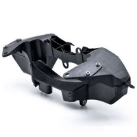 For 07 12 Honda CBR600RR CBR 600RR Black Upper Front Headlight Headlamp Bracket Fairing Stay 2007 2008 2009 2010 2011 2012