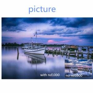 Image 5 - Filtro de cámara 49mm/52/55/58/62/67/72/77mm densidad neutra ND 1000 ND1000 para Canon Nikon D3400 1100D 700 D