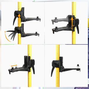 """Image 3 - Huepar 12 Ft./3,7 m Laser Stativ Teleskop Pole mit 1/4 Zoll durch 20 Inch Laser Montieren für Rotary Enthalten LP36 & 5/8 """" 11 Adapter"""
