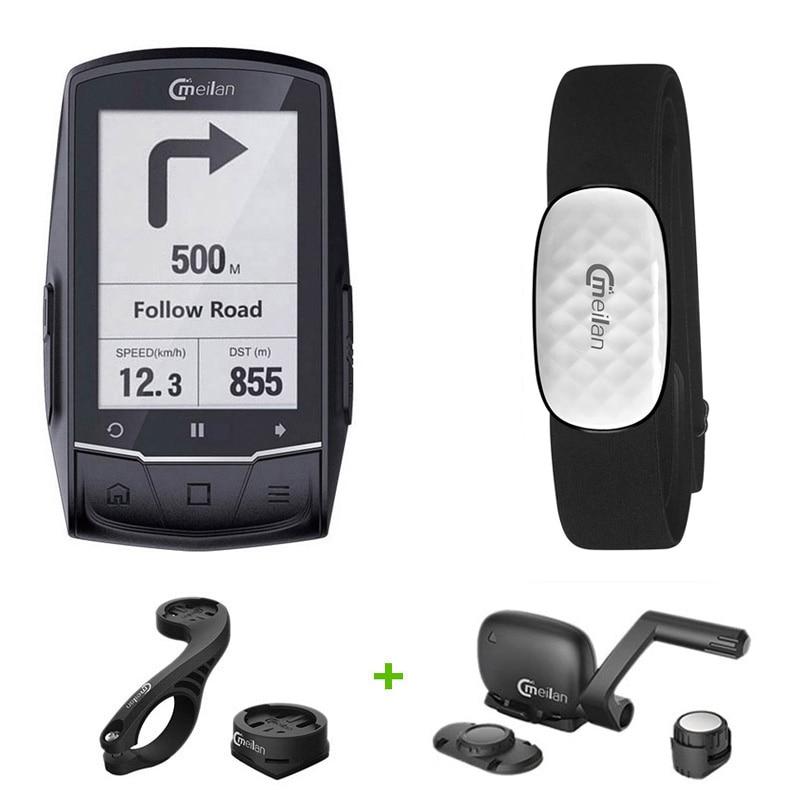 IPX6 Bluetooth GPS Computador de Bicicleta GPS Computador de Bicicleta Estrada Mapa de Navegação GPS À Prova D' Água Movimento Velocímetro do Odómetro