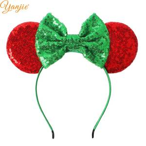 YANJIE Headband Kids Bow Ears Hair Band Hair Accessories