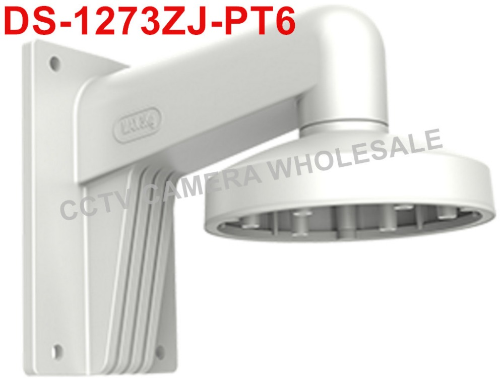 DS-1273ZJ-PT6 wall mount bracket for mini PTZ CCTV camera DS-2DE3304W-DE ds 1276zj corner mount bracket for cctv camera