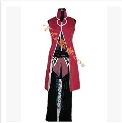 Anime Custom made Male Puella Magi Madoka Magica Kyoko Sakura Cosplay costume