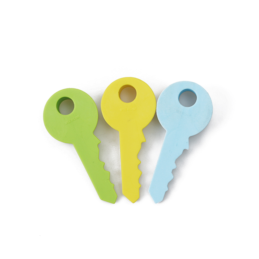 1pc New Colorful Practical Novelty 10cm Silicone Rubber