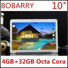 Free Shipping 10 inch 3G 4G LTE tablet pc Octa core 1280*800 5.0MP 4GB 32GB Android 5.1 Bluetooth GPS tablet 10