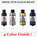 100% original smok tfv8 nube atomizador tanque bestia-multi color para la caja de vapor mod