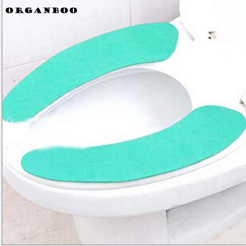 padded toilet seat cover. Aliexpress Com  Buy 2pcs Toilet Seat Cover Bathroom Sets Cushion Products Easy To Carry Repeated Washing Self Adhesive From