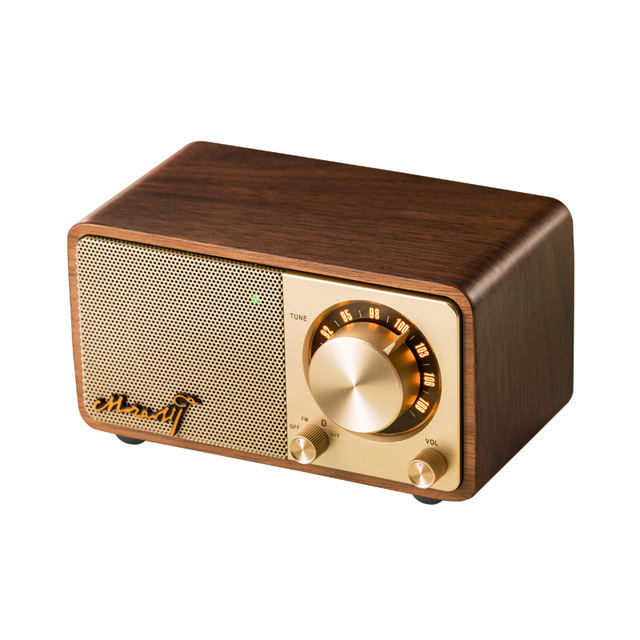 Retro Style Wooden Bluetooth Speaker