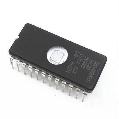 2 adet M2716-1F1 2716 Bellek UV EPROM IC YENI2 adet M2716-1F1 2716 Bellek UV EPROM IC YENI