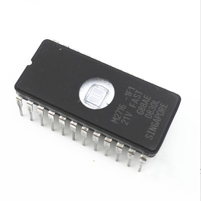 2 Pcs M2716-1F1 2716 Memory UV EPROM IC NEW