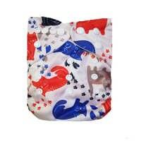 Lilbit 2018 pano moderno fraldas reutilizáveis fraldas do bebê capa fralda lavável ajustável bolso fralda para recém-nascido a 34lbs