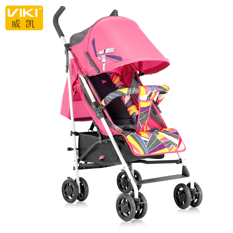 Hot Selling Folding Baby Stroller, Baby Umbrella Cart, Children Pushchair with Anti-UV Sunshade, Baby Carriage Can Sit & Lie mige stroller baby trolley cart folding baby carriage baby cart can be lying on the baby cart portable cart pram with 3 gift