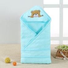 Летнее одеяло для младенцев хлопковый квадратный конверт в виде