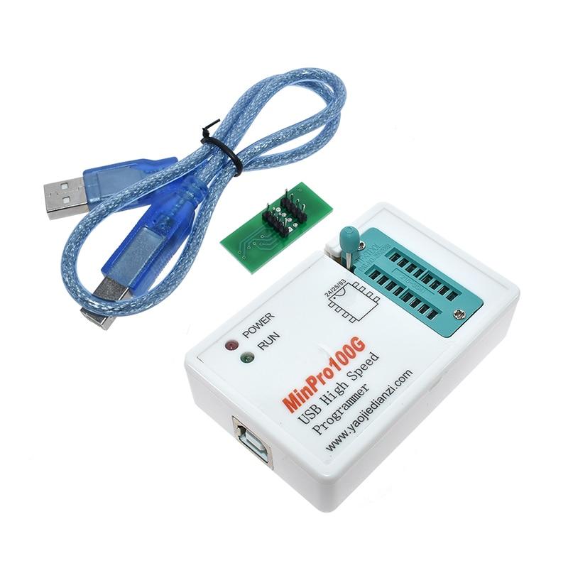 Minpro100e minpro100g bios programador em flash spi