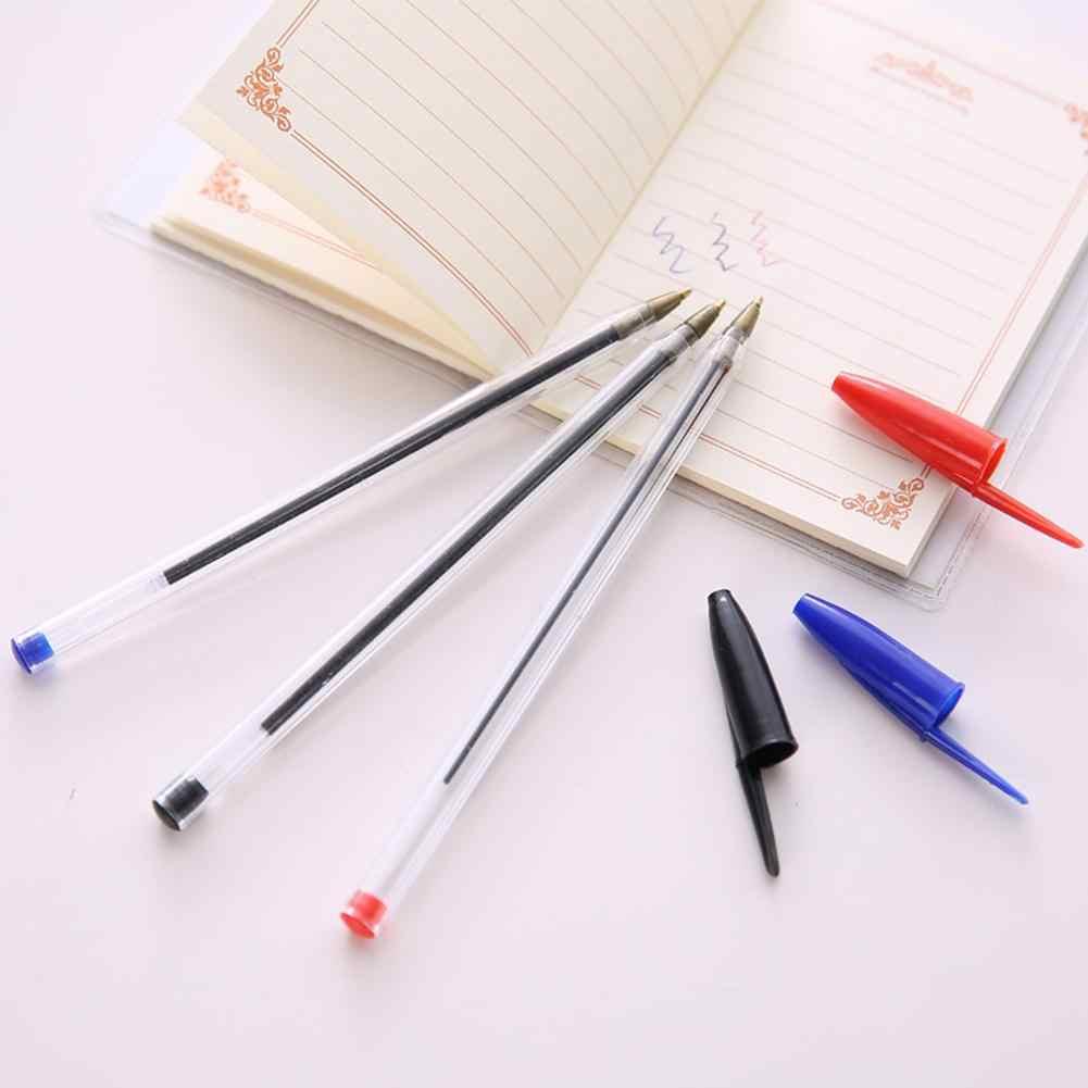 Адеинг 50 шт 1,0 мм Шариковые Ручки Шариковая точка биопс красный синий черная классика внешний вид идеально подходит для школьников r60